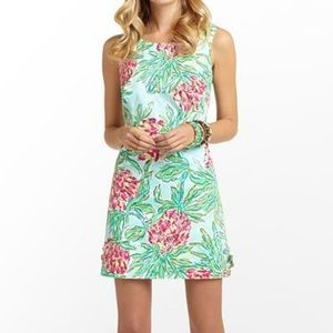 LILLY PULITZER Delia Shift dress in Pink Pineapple